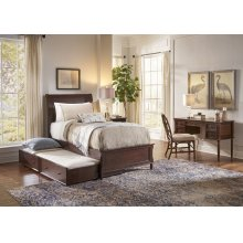 Avignon Birch Cherry Twin Trundle Bed