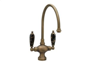 Kitchen & Bar Single Hole Bar Faucet K8158CH - Polished Brass Product Image