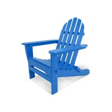 Pacific Blue Classic Folding Adirondack