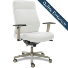 Baylor Executive Office Chair, White