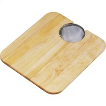 "Elkay Hardwood 14-1/2"" x 17"" x 3/4"" Cutting Board"
