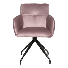 Cavazzi Swivel Chair Purple