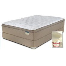 "Comfortec - Dorchester - Latex - 15"" Euro Box Top - Queen"