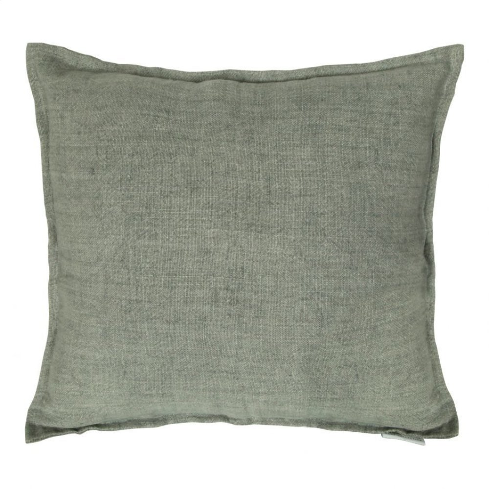 Lemmy Linen Feather Cushion Grey 20x20