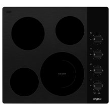 24-inch Compact Electric Ceramic Glass Cooktop