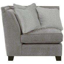 Franco Corner Chair in Mocha (751)