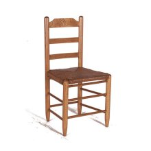 Farm House Chair in Black Matte