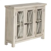 Bayside 3 Door Cabinet - Antique White Product Image