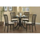 Brannan Casual Cappuccino Dining Table Product Image