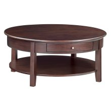"CAF McKenzie Round Cocktail Table (40""D)"