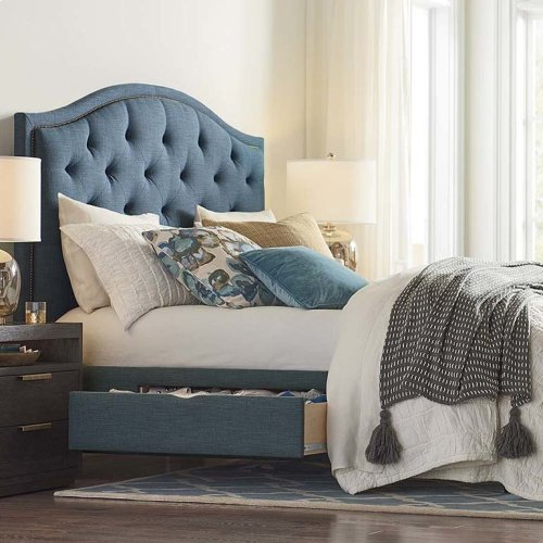 Custom Uph Beds Florence King Clipped Corner Bed