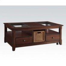 Coffee Table W/basket