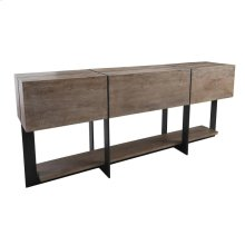 "Desmond Console Table 60"" Taupe"