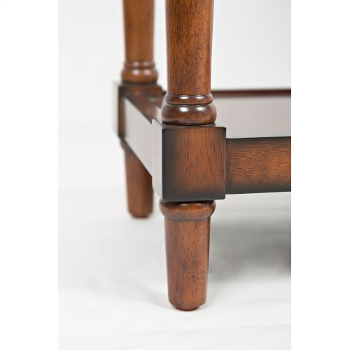 """Stately Home 60"""" Console- Antique Mahogany"""