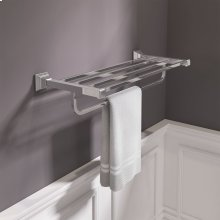 TS Series 24 Inch Train Rack  American Standard - Polished Chrome