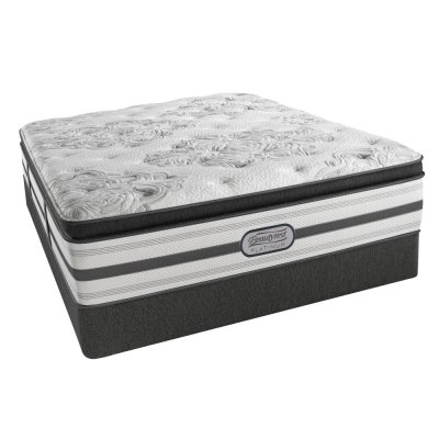 Beautyrest - Platinum - Hybrid - Agatha - Plush - Pillow Top - Queen Product Image