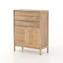 Natural Finish Sydney Tall Dresser