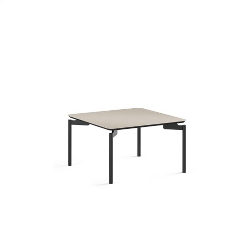 1730 Square Coffee Table BDI in Taupe