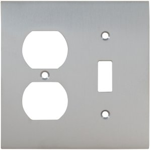 Combination Modern Switchplate in (US26D Satin Chrome Plated) Product Image