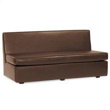 Slipper Sofa Avanti Pecan