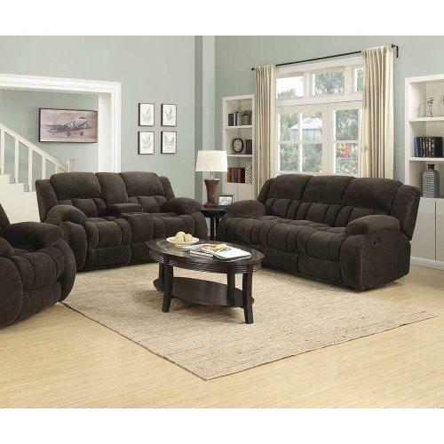 Weissman Brown Two-piece Living Room Set
