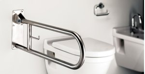 SAT.ST.STEEL Grab Bar Swing-up Product Image