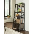 Deponte Weathered Gunmetal Tapering Bookcase Product Image