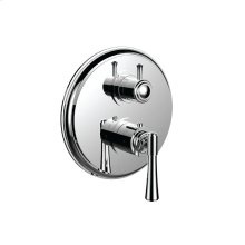 """7098ha-tm - 1/2"""" Thermostatic Trim With 3-way Diverter Trim (shared Function) in Satin Nickel"""