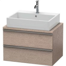Happy D.2 Vanity Unit For Console Compact, Cashmere Oak