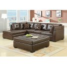 Darie Casual Brown Ottoman Product Image
