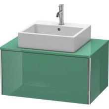Vanity Unit For Console Wall-mounted, Jade High Gloss (lacquer)