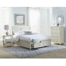Avignon Ivory Full Storage Footboard
