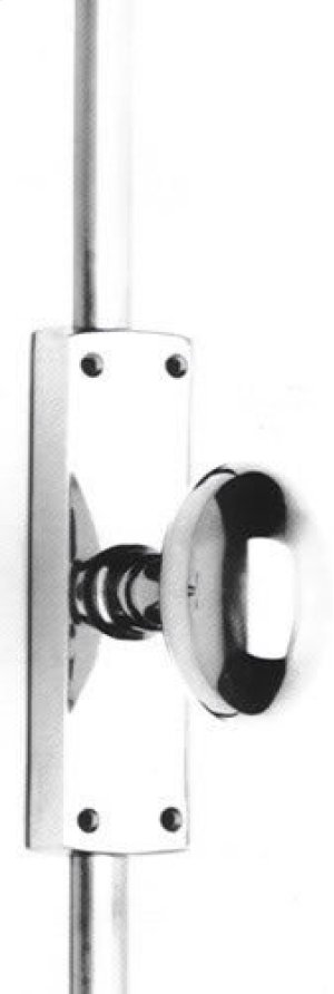 Knob Cremone Bolt Set in (Knob Cremone Bolt Set - Solid Brass ) Product Image