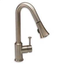 Pekoe 1-Handle Pull Down High-Arc Kitchen Faucet  American Standard - Stainless Steel