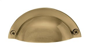 Nostalgic Warehouse - Brass Bin Pull in Antique Brass Product Image