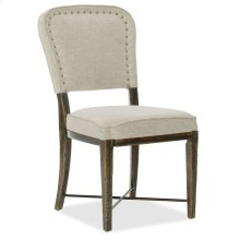 Dining Room Crafted Upholstered Side Chair