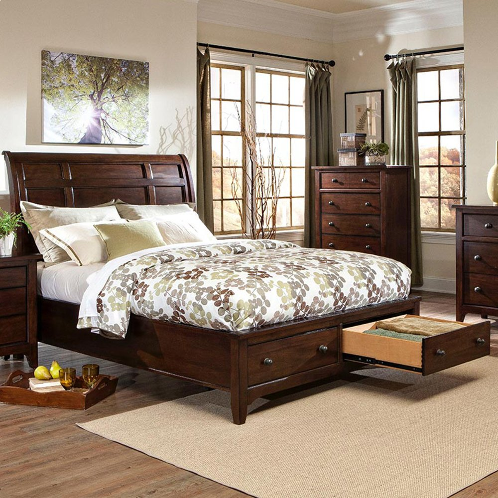 Jackson Sleigh Storage Bed