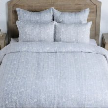 French Herringbone Storm 5Pc QN Set