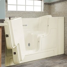 Gelcoat Premium Series 30x52 Walk-in Tub with Outswing Door, Left Drain  American Standard - Linen