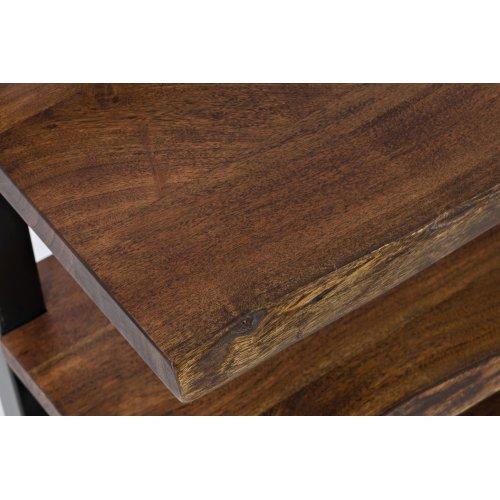 Nature's Edge L. Chestnut 3 Shelf Bookcase 32x14x32
