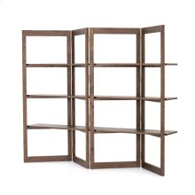 Malone Bookshelf-matte Brown
