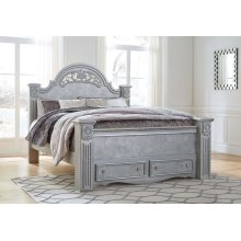 Zolena - Silver 4 Piece Bedroom Set