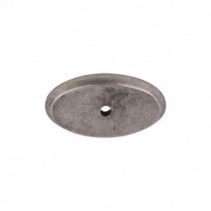 Aspen Oval Backplate 1 3/4 Inch - Silicon Bronze Light Product Image