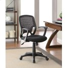 Casual Black Mesh Office Chair Product Image