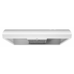 30-INCH VENTED UNDERCABINET HOOD - White