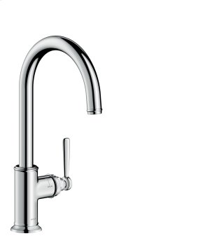 Chrome Single lever kitchen mixer 260 with swivel spout Product Image