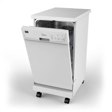 Portable 18 inch Dishwasher - Stainless Steel
