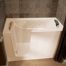 Premium Series 30x60 Combo Massage Walk-in Tub, Left Drain  American Standard - Linen