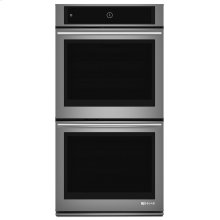 """Euro-Style 27"""" Double Wall Oven with Upper MultiMode® Convection System Stainless Steel"""