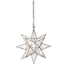 Medium Clear Star Chandelier